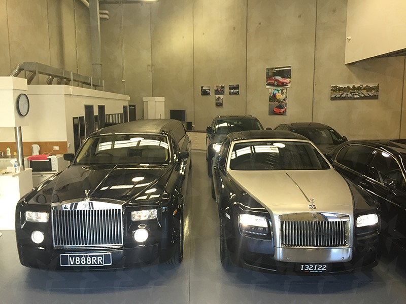 Rolls Royce Stretch Limousine