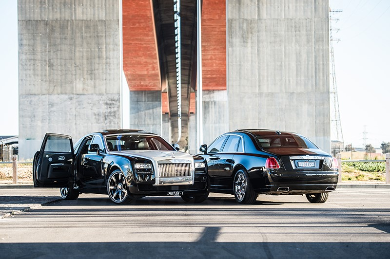 Rolls Royce Ghost (Black)