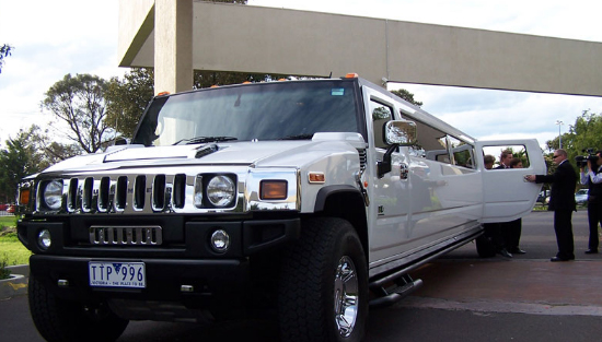 Hummer Stretch Limousine (White)